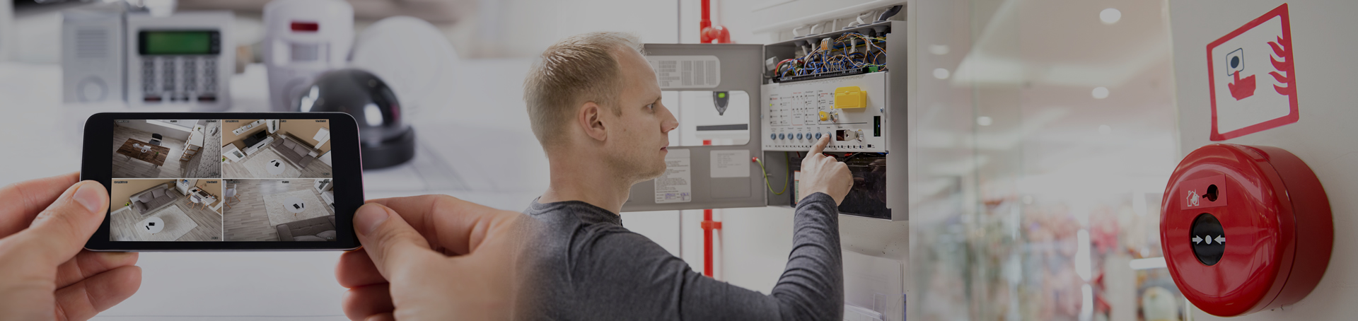 Commercial, Industrial & Residential, Electrical and Security Services
