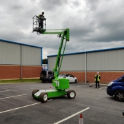 IPAF International Powered Access Federation, Working at heights training for Dalec UK Ltd, promoting the safe and effective use of powered access equipment.